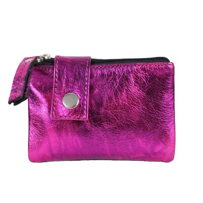 Art Yasmine Medium Double Zip Wallet