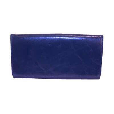 Latico Leathers Roxie Mimi Large Flapover Wallet