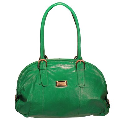 Latico Leathers Taylor Mimi Coinkeeper Domed Tote Bag