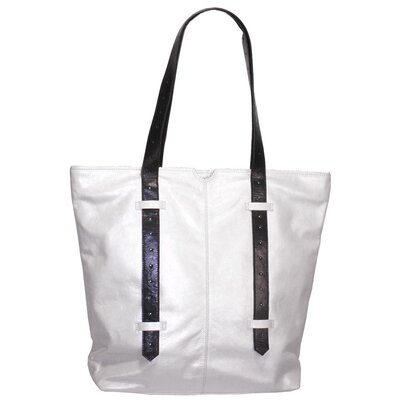 Bobbie Metallic Block Large Tote Bag