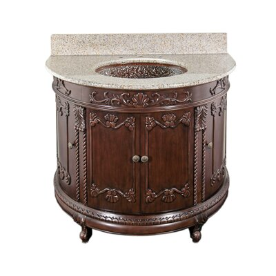 "JSG Oceana Semi-Circle 36"" Bathroom Vanity Set"