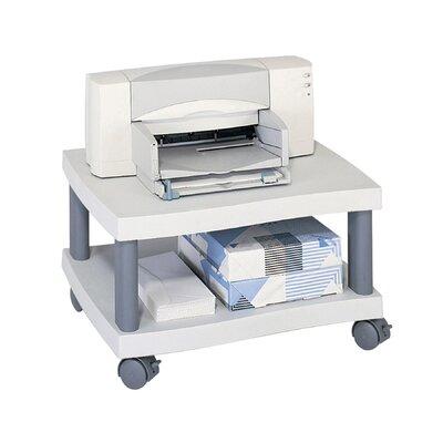 safco wave under desk printer stand in grey reviews. Black Bedroom Furniture Sets. Home Design Ideas