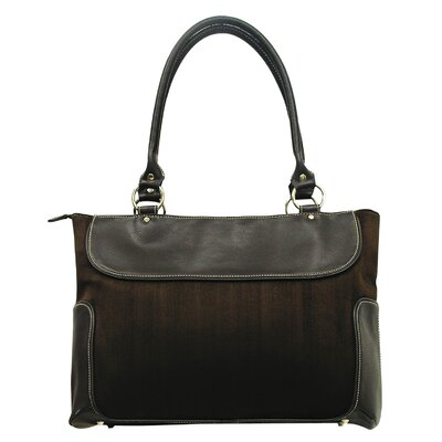 U.S. Traveler Ladies Business Zip-Top Computer Causal Tote