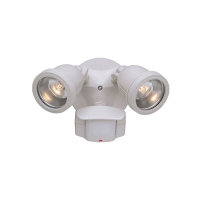 Designers Fountain Motion Detector 180 Degree Twin Light