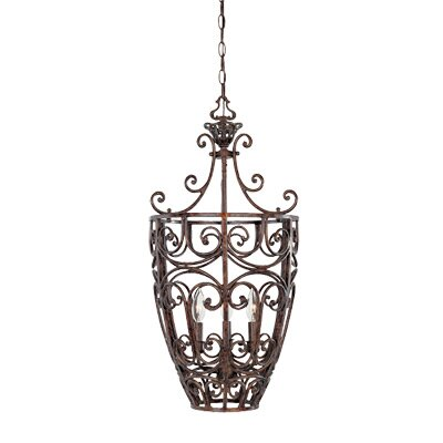 Designers Fountain Amherst 3 Light Foyer Pendant