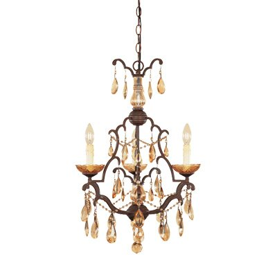 Designers Fountain Bollo 3 Light Chandelier
