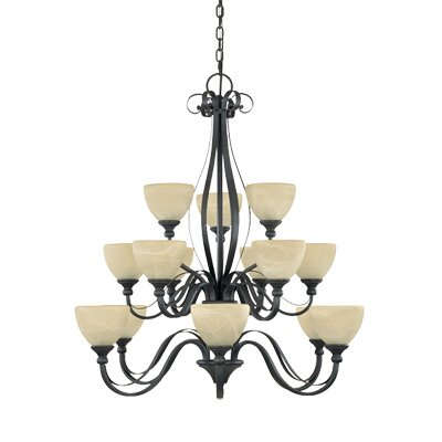 Designers Fountain Del Amo 15 Light Chandelier