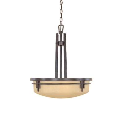 Mission Ridge 3 Light Inverted Pendant