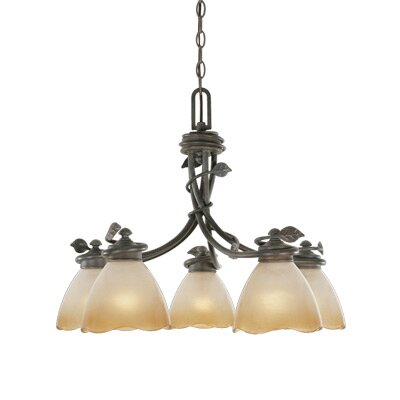 Timberline 5 Light Chandelier