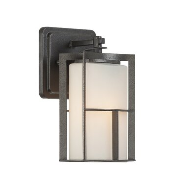Wayfair External Wall Lights : Designers Fountain Braxton 1 Light Outdoor Wall Lantern & Reviews Wayfair
