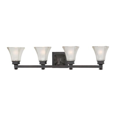 Designers Fountain Canterbury 4 Light Bath Vanity Light