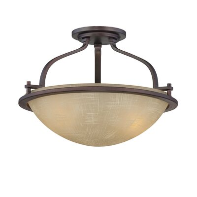 Castello 2 Light Semi-Flush Mount
