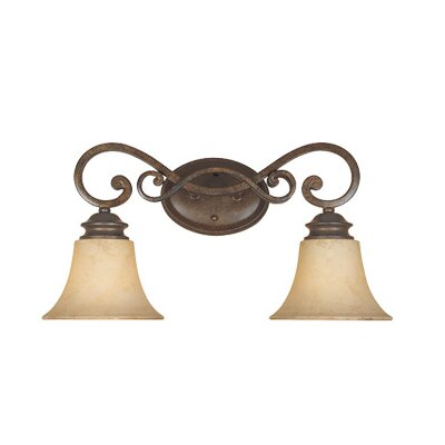 Designers Fountain Mendocino 2 Light Vanity Light