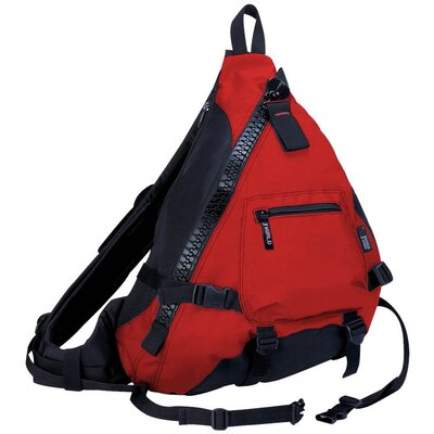 J World Hickory Big Zipper Sling Backpack