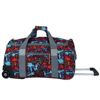 "J World 22"" 2-Wheeled Carry-On Duffel"