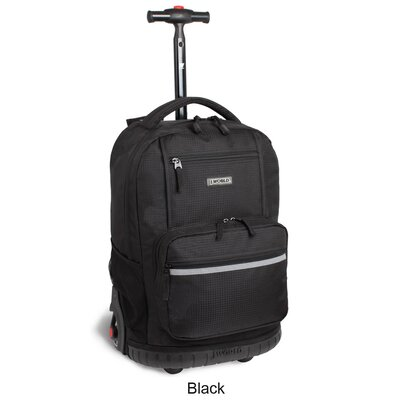 "J World Sunset 18"" Multi Pocket Rolling Backpack"
