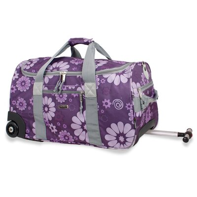 J World 22&quot; Tamarak 2-Wheeled Carry-On Duffel