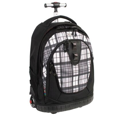 J World Drake Laptop Rolling Backpack
