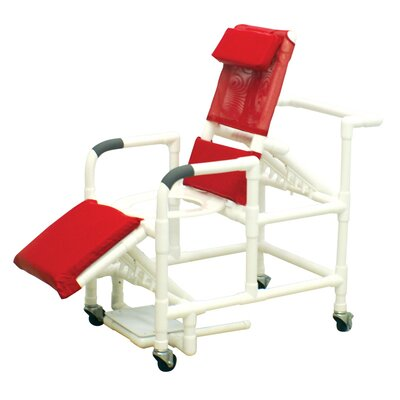 Mjm 193 adult reclining shower chair