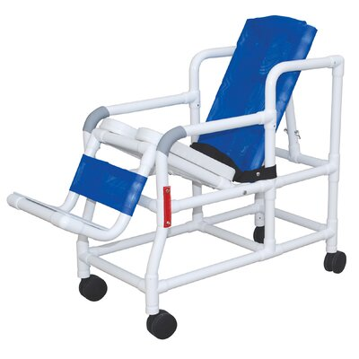 MJM International Pediatric Tilt N Space Shower Chair and Optional Accessories