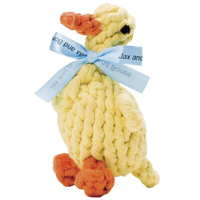 Jax & Bones Daisy the Duck Rope Dog Toy