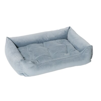 Jax & Bones Plush Velour Nest Bolster Dog Bed