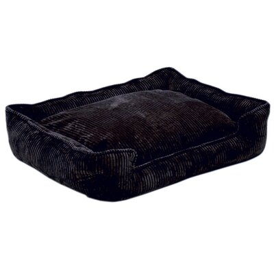 Jax & Bones Corduroy Lounge Dog Bed in Midnight