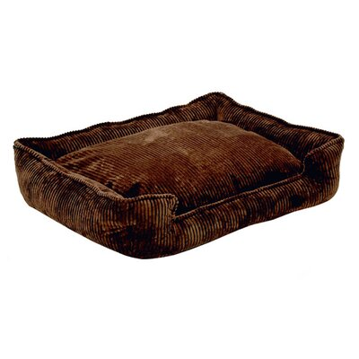 <strong>Jax & Bones</strong> Corduroy Lounge Bolster Dog Bed