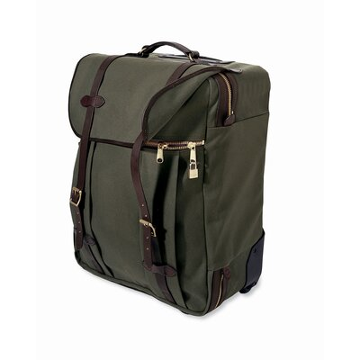 "Filson Medium 23.5"" Wheeled Check-In Bag in Otter Green"