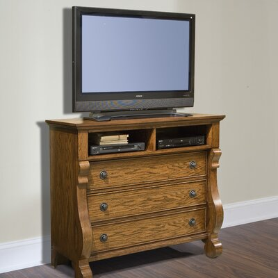 Georgetown 3 Drawer Media Chest