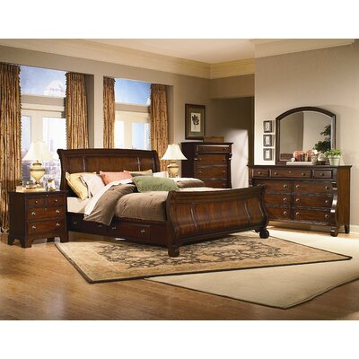 kathy ireland Home by Vaughan Georgetown Sleigh Bed