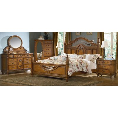 sumatra finish 356803 on kathy ireland bedroom furniture by vaughan