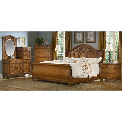 kathy ireland Home by Vaughan Southern Heritage Sleigh Bedroom Collection