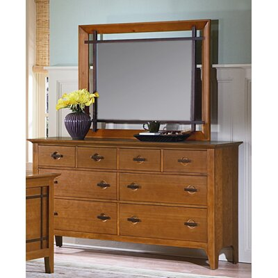 kathy ireland Home by Vaughan Franklin Heights Rectangular Dresser Mirror