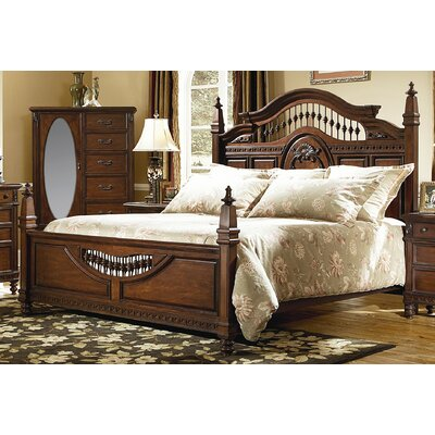Southern Heritage Panel Bed