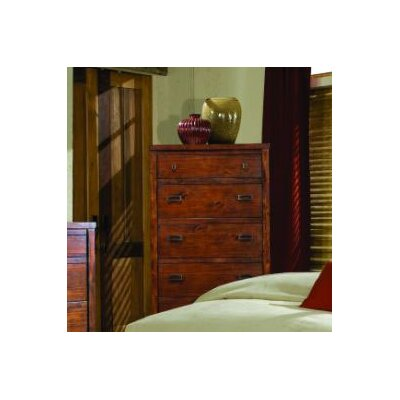 kathy ireland Home by Vaughan Rustic Lodge 5 Drawer Chest