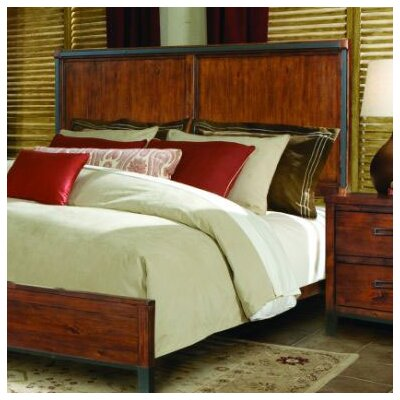 kathy ireland Home by Vaughan Rustic Lodge Panel Bed