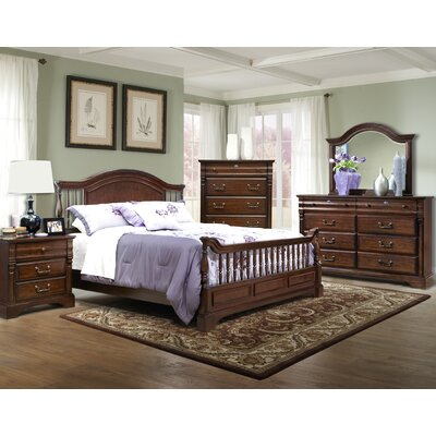 kathy ireland Home by Vaughan Washington Manor Bannister Bed