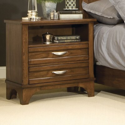 kathy ireland Home by Vaughan Radiance 2 Drawer Nightstand