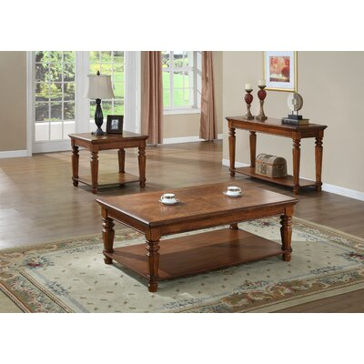 kathy ireland Home by Vaughan Pennsylvania Country Coffee Table Set