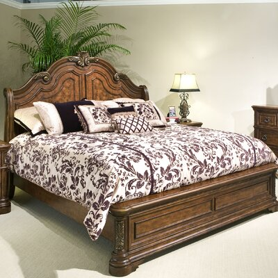 romantic dreams sleigh bedroom collection wayfair