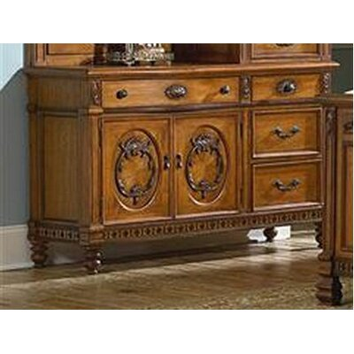 kathy ireland Home by Vaughan Southern Heritage 4 Drawer Combo Dresser
