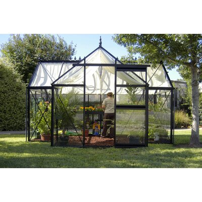 Janssens of Belgium Royal Victorian Orangerie Glass Greenhouse