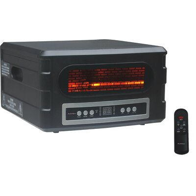 Advanced Tech Infrared Heat Serve Infrared Compact Space Heater with Remote Control