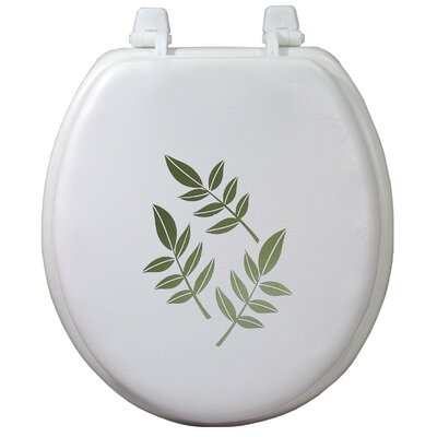 Magnolia Decorative Soft Round Toilet Seat