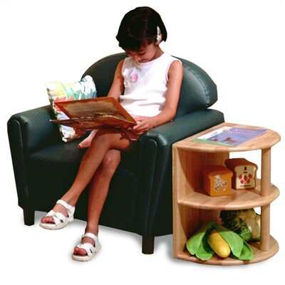 Brand New World Vinyl Funky Overstuffed Child Sofa and Chair Set