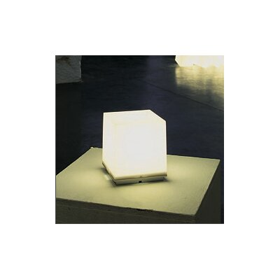 "B.Lux Q-Bo 6.25"" H Table Lamp with Square Shade"