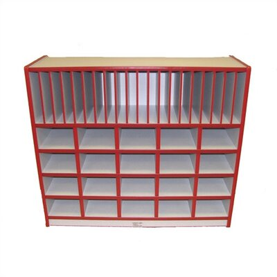 Mahar Cubbie Unit With Vertical Letter Slots