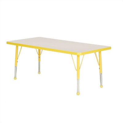 Mahar Large Rectangle Creative Colors Activity Table