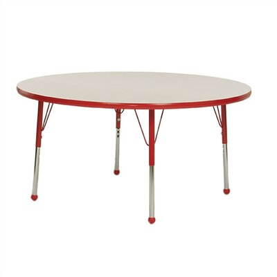 Large Round Creative Colors Activity Table